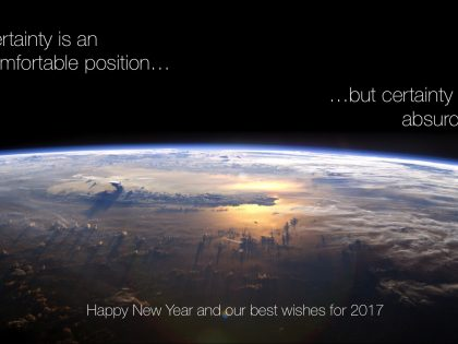 2017 is Here – Change, Uncertainty… and Growth?