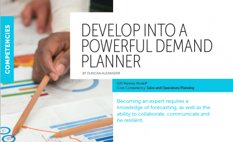 Demand Planning Mastery - Institute of Supply Management
